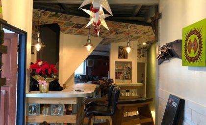 【8/19】くるぐら会議スピンオフ視察ツアー〜久留米絣みらい研究所&Law-Law's Cafe&Bar